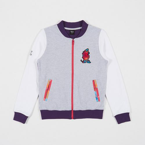 Disney Teen Women Jacket Minnie Grey/Violet-XS