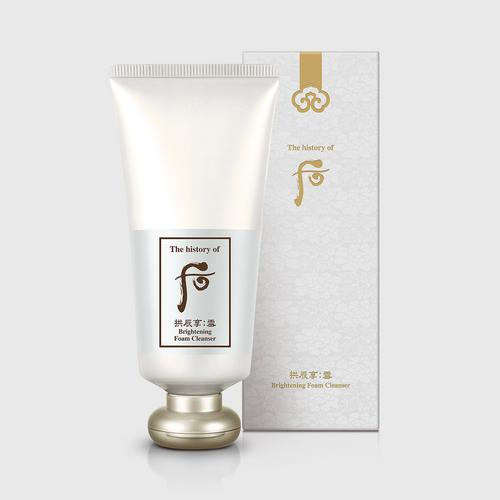THE HISTORY OF WHOO Gongjinhyang: Seol Brightening Foam Cleanser 180ml