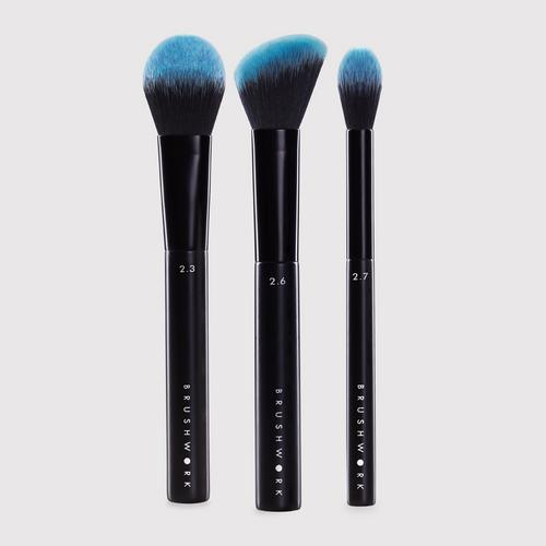BRUSHWORK Face Sculpting Set - Contour & Highlight