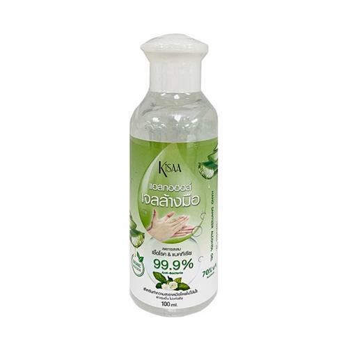 KISAA Hand Sanitizer Alcohol Gel 70% (100ml)
