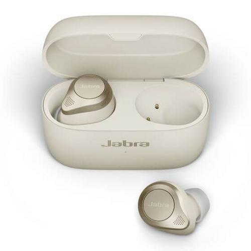 JABRA Elite 85t True Wireless Earbuds with Adjustable ANC - Gold Beige