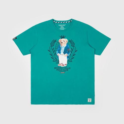 BEVERLY HILLS POLO CLUB  T-Shirt - Green - M