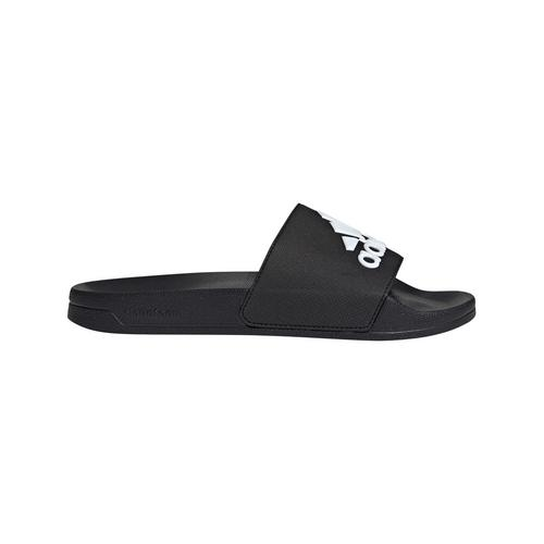 ADIDAS ADILETTE SHOWER SLIDES - SIZE  6