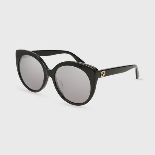 GUCCI GG0325SA sunglasses - Silver Lens