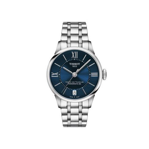 TISSOT Chemin Lady Steel 30mm (Blue Dial)
