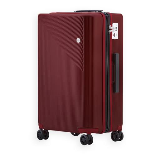 COVE Luggage Max Motion Expandable Red 29""