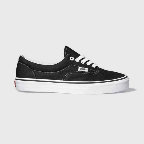 VANS ERA (VANS EMBOSS) BLACK/TRUE WHITE size 4 us