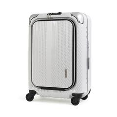 LEGEND WALKER LUGGAGE 6203-50 SIZE 20 INCHES R.CB WHITE SILVER