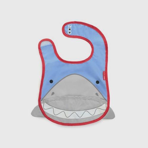 SKIP HOP Baby Apron Zoo Bib Shark Style