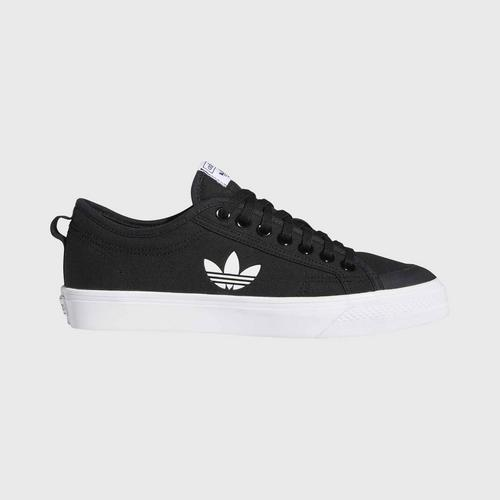 ADIDAS Nizza Trefoil Vulcanized Shoes  - Core Black - UK 4 UK