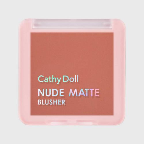 CATHY DOLL Nude Matte Blusher 6g Cathy Doll (M) #08 Sandy