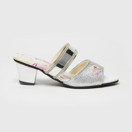 Disney Frozen Mules Shoes Silver No.28(18.5cm.)