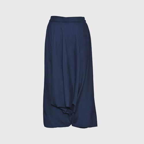 TAYWA - Hand woven cotton pants Free size Green