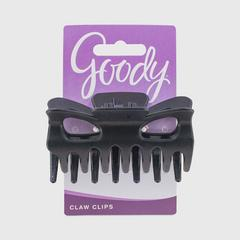 GOODY Frost Large Bow tie Claw Clip, Black
