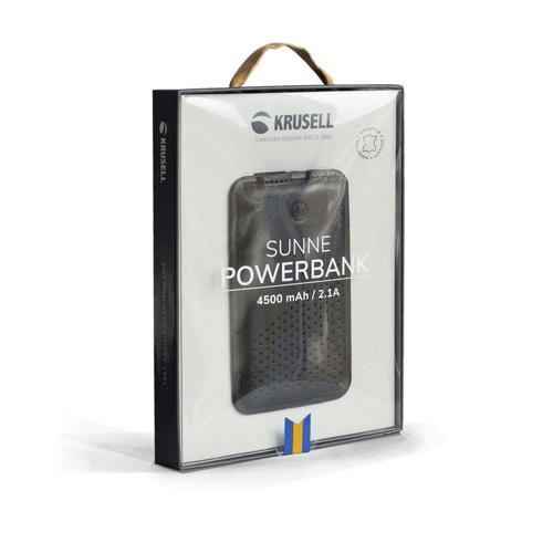 Krusell Sunne Power Bank Universal Vint Black