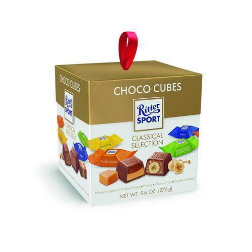RITTER SPORT CHOCO CUBES 272G