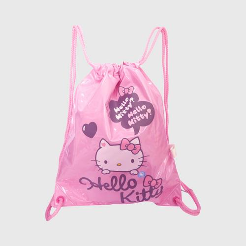 INFLAT DECOR Hello Kitty Heart1 2 in 1 Swimming Bag  - Soft Pink