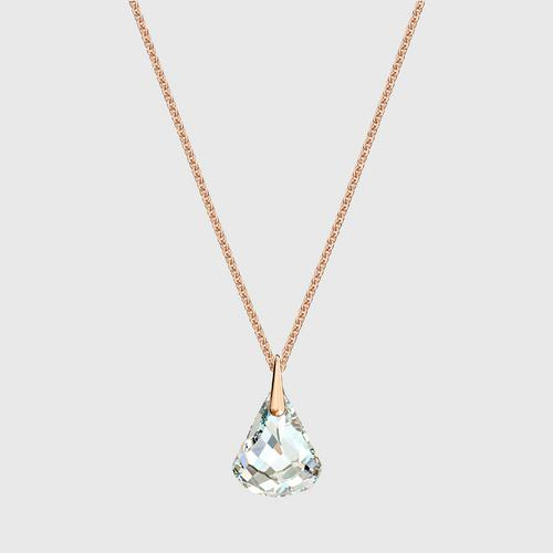 SWAROVSKI Spirit Pendant, White, Rose-gold tone plated