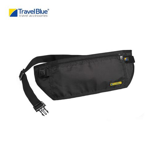 Travel Blue TB114BL RFID Blocking Lightweight Money Belt - Black