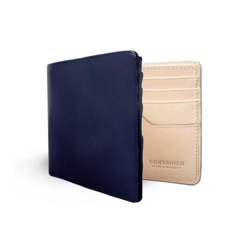 Container Leather Wallet 9 x 11 cm