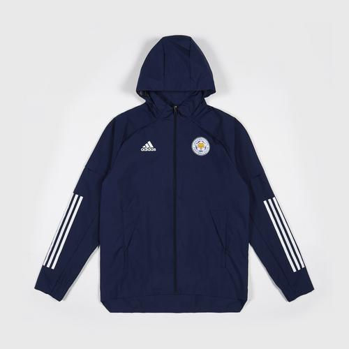Leicester City Football Club CON20 AW JKT Navy Blue/White Colour Size S