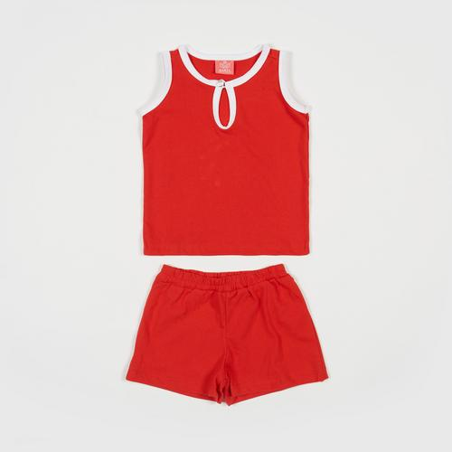 NANITA Kids Clothing Set P015 - Red - S
