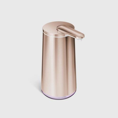 SIMPLEHUMAN RECHARGEABLE FOAM SENSOR PUMP - ROSE GOLD