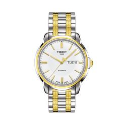 TISSOT Automatc Gent Bi-Color  39.7mm (White Dial)