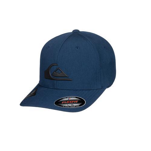 QUIKSILVER NAVY AMPED UP FLEXFIT CAP