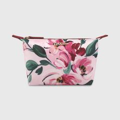 Cath Kidston Aster Small Pouch Paintbox Flowers Soft Pink