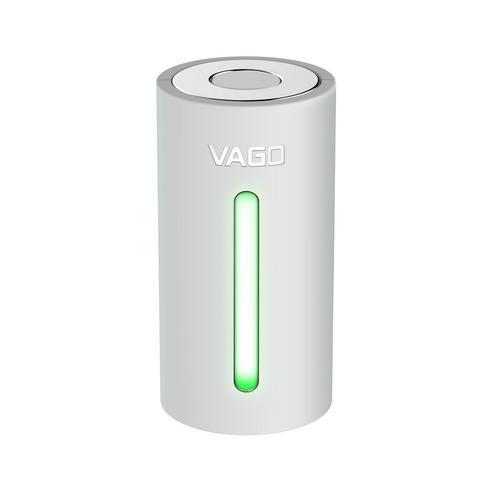 VAGO Portable Vacuum - White (Free Vacuum Bag Size M 1 Piece)