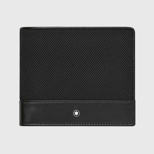MONTBLANC Nightflight Wallet 4cc with coin case