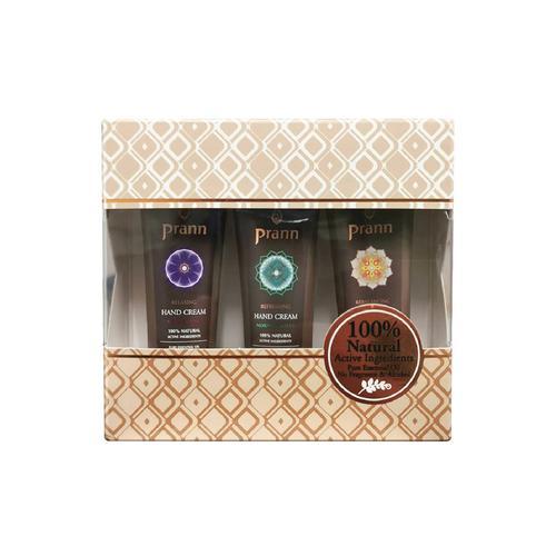 Prann Rose&Lotus&Jasmine Hand Cream Set 15 mlx3 pcs.