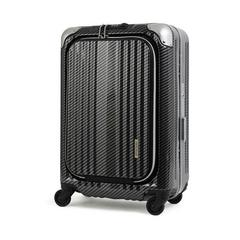 LEGEND WALKER LUGGAGE 6203-50 SIZE 20 INCHES R.CB BLACK SILVER