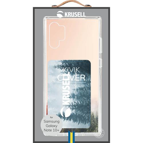 KRUSELL Kivik Cover Samsung Note 10 Plus Transparent