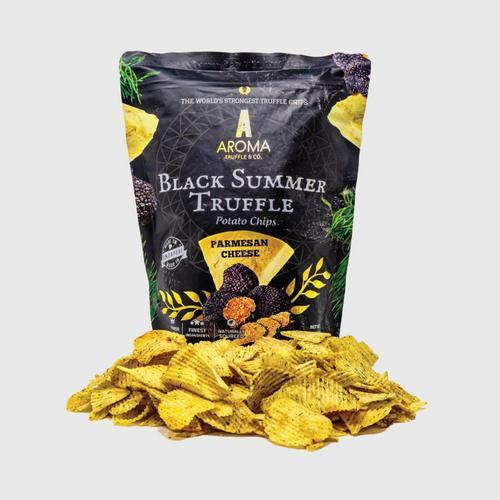 AROMA TRUFFLE & CO.  Black Truffle Potato Chips 100 g. - Parmesan Cheese