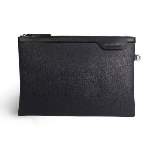CONTAINER Classic Clutch M Embossed Black