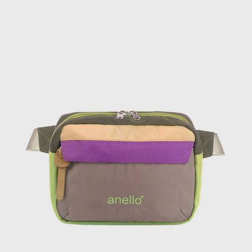 ANELLO OS-S058-NOSTALGIC Reg. Waist bag-GRAY
