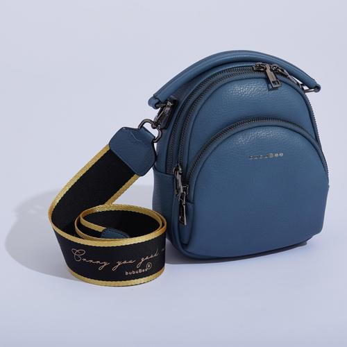 BUBUBEE PAULA M BAG (BLUE) W19x H20x D11 CMS