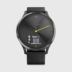 GARMIN Vivomove HR Sport  运动手表 Black (Large) 40.8克
