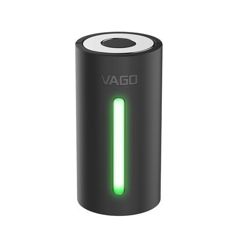 VAGO Portable Vacuum - Black (Free Vacuum Bag Size M 1 Piece)