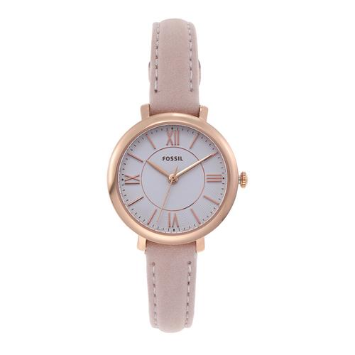 FOSSIL Jacqueline Analog Nude Leather Watch