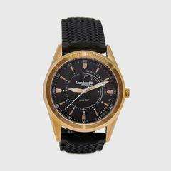 Lambretta Watch Marco 40 Rubber Rose Gold Black