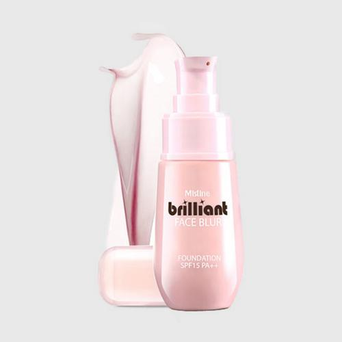 MISTINE BRILLIANT FACE BLUR FOUNDATION SPF15 PA++
