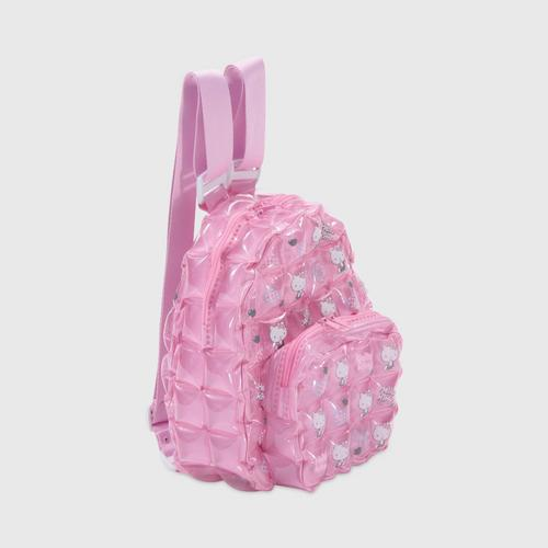 INFLAT DECOR Hello Kitty Heart Backpack Oval Shape S - Soft Pink