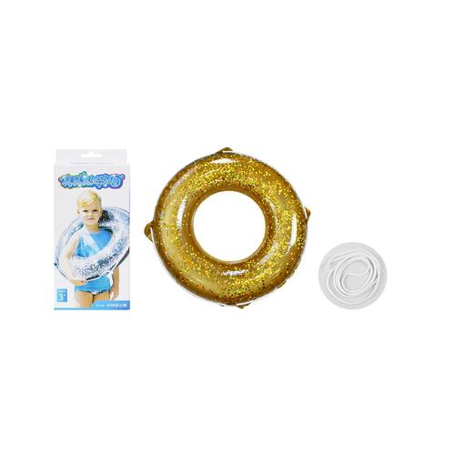 BB TOY :Gold glister rubber rings.