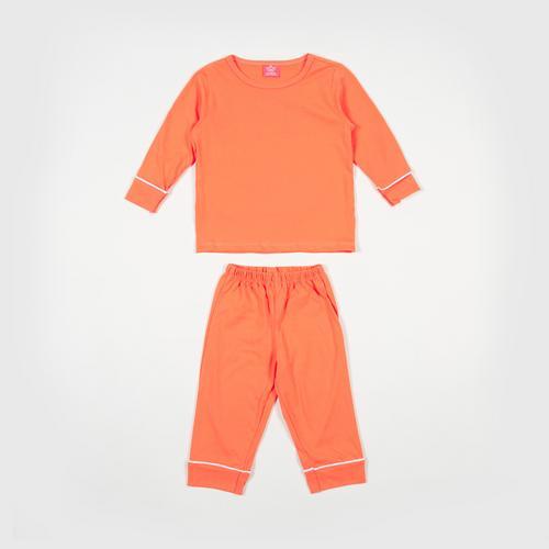 NANITA Kids Clothing Set P014 - Orange - S