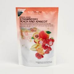 King Power Recipe草莓 、桃、杏脆皮水果干 100克