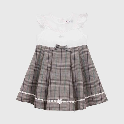 LITTLE WACOAL Dress Skirt with bow pattern (Brown)