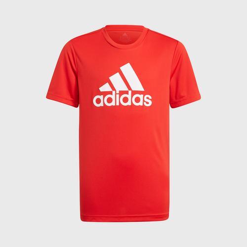 Adidas B BL T - VIVID RED SIZE 128 CM UK